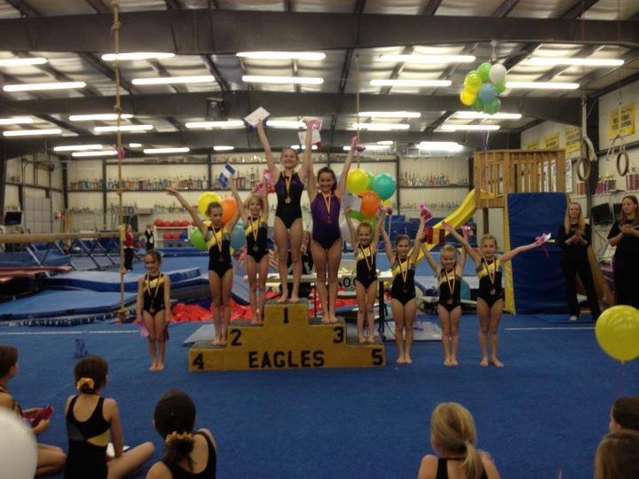 Club Classic Fun Meets Eagles Gymnastics
